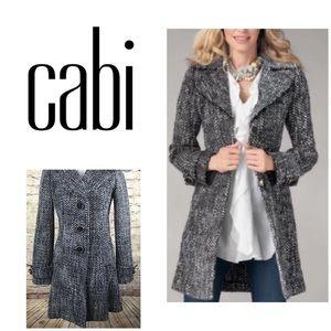 CAbi Tweed Mid-Length Coat